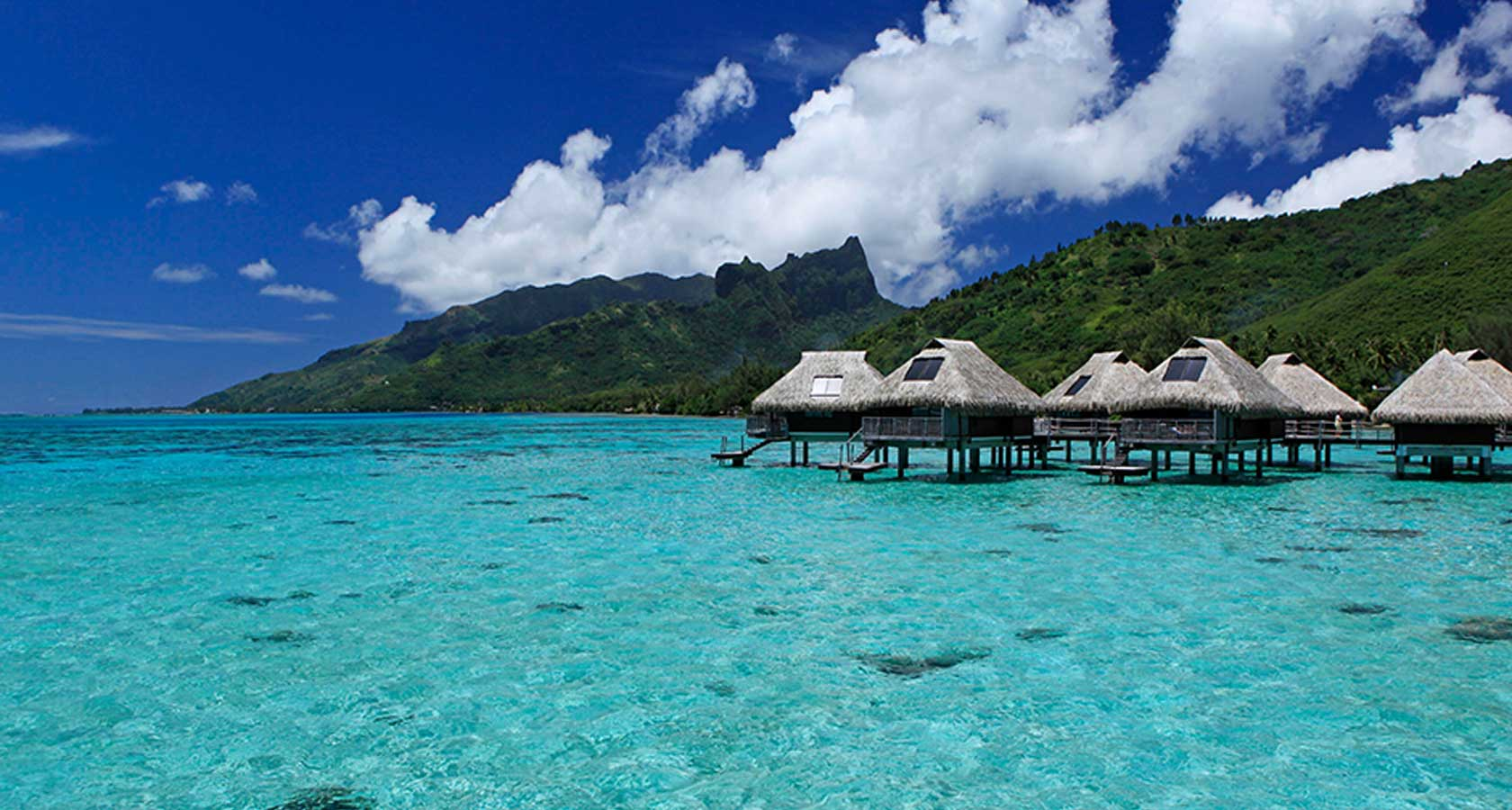 BEST TAHITI HONEYMOON PACKAGE HILTON MOOREA LAGOON RESORT