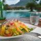 BORA BORA PEARL BEACH RESORT pool food