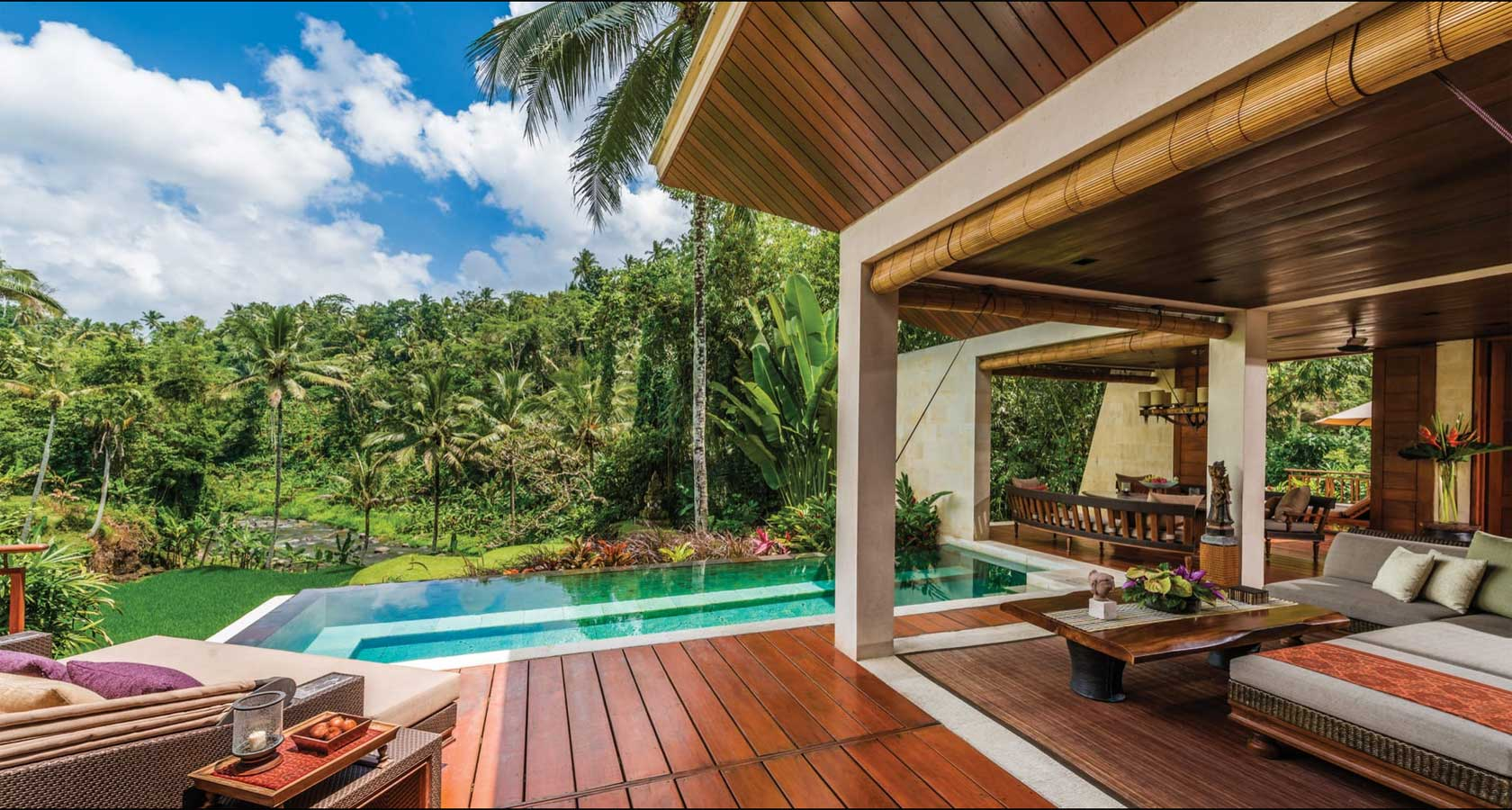Four Seasons Resort Sayan Best Bali Honeymoon Packages