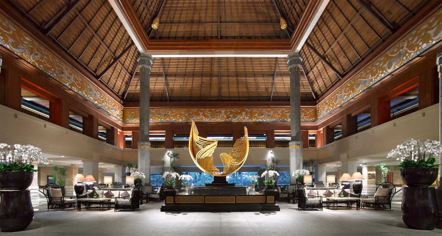 INTERCONTINENTAL BALI RESORT lobby area