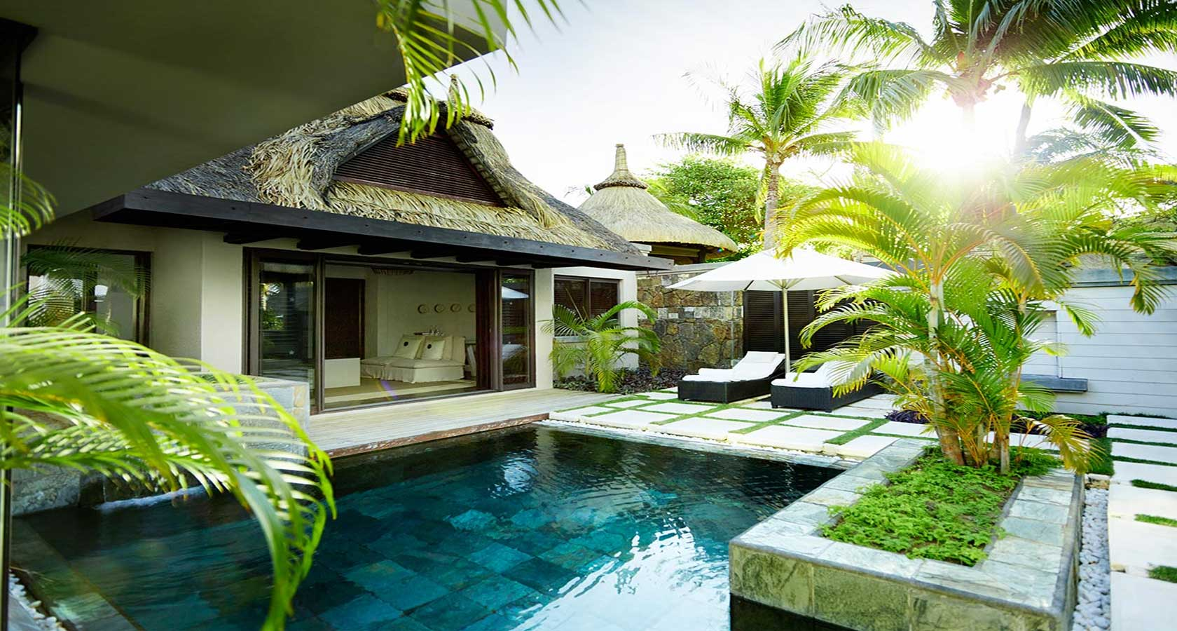LUX BELLE MARE MAURITIUS villa option best honeymoon packages