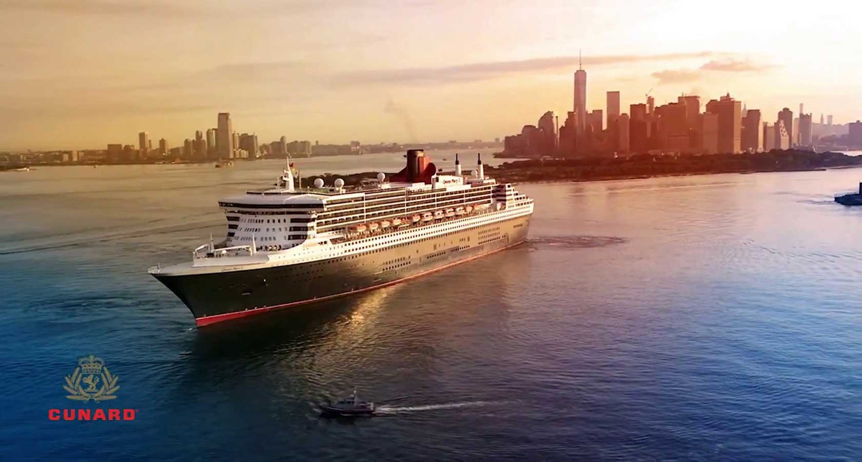 TRANSATLANTIC HONEYMOON CRUISE Cunard