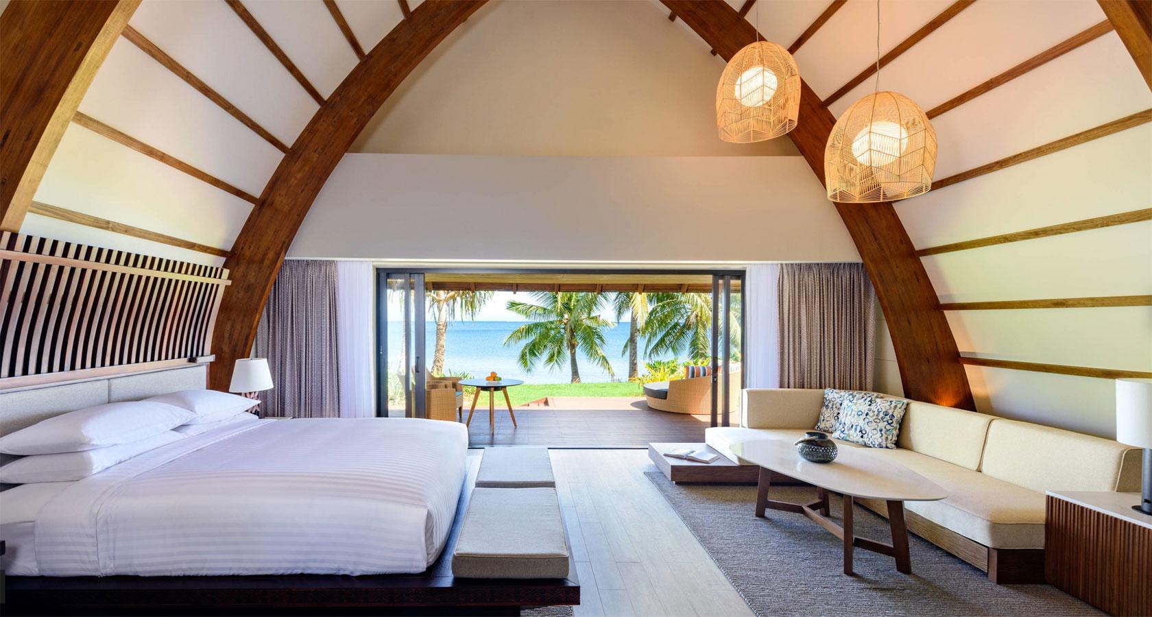 FIJI RESORT MARRIOTT MOMI BAY Ocean Front Bure Room